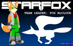 Fox McCloud Wallpaper by NS-Games