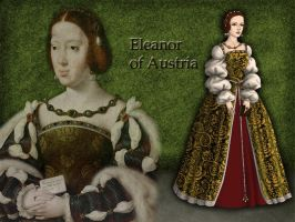 Eleanor of Austria by Nurycat