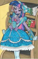 Lolita Twilight Sparkle Print by PonyGoddess