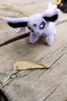 Espeon Finds a Seed Pod by BeeZee-Art