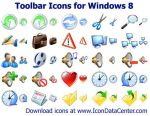 Toolbar Icons for Windows 8 by shockvideo