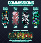 Commissions are open! by Quarma