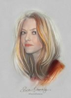 Pretty Face - Amanda Seyfried by artistamroashry