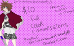 COMMISSIONS [open] by justaheartlessnobody