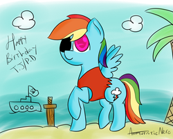 Happy B-day Pirate Dash by MrNer0