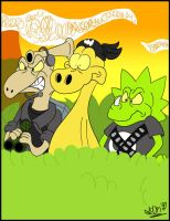 The Terrible Thunderlizards by Urbie89