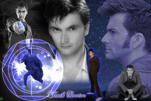 Doctor Who Thenth David Tennant by Ferrlm