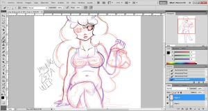 Lumpy space princess gijinka WIP by miyukiZETA