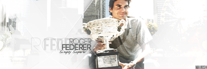 Roger Federer by manishdesigns