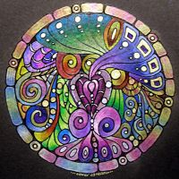 Mandala 24 Feb 2012 by Artwyrd
