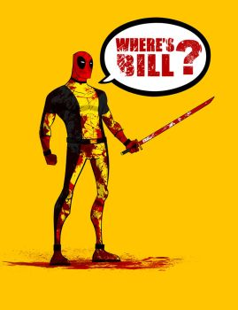 Deadpool- Kill Bill by Andrew-ak-47