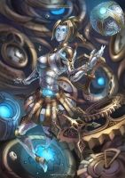 Orianna - The Lady of Clockwork by MonoriRogue