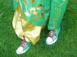 Duct Tape Prom 2012 - Shoes and Details by QuietMischief