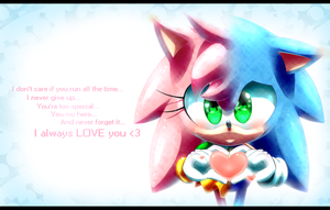 Oo. Classic Sonamy Promise .oO by PauliCat-24
