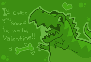Rex's Valentines by The-Knick
