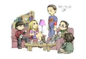 The Big Bang Theory by nami86 by Scarypopin
