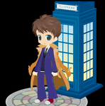 The Doctor selfy by BejeweledLovePotion