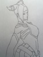 Juri Han Sketch by VIRGIL46