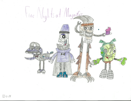 Mixels - Five Nights at Magnifo's by worldofcaitlyn