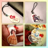 Disney Phone Charms by thedustyphoenix
