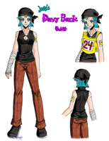 Davy Back Fight outfit by zoro4me3