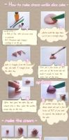 tutorial: choco vanilla cake by sparklingz-sugar