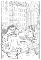 Who Ya Gonna Call? -Pencils- by TomParrish