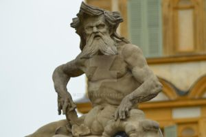 Statue from the Seehof Palace in Bamberg, Germany by Kitty1205