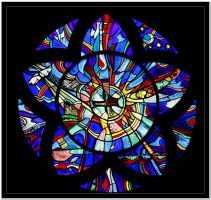 Religious Stained Glass by LuckyLisp