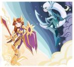 Diana and Leona by inkinesss