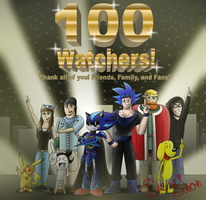 100 Watchers Milestone Achieved! Thank You All! by CCI545