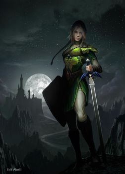 Female Link by Edli
