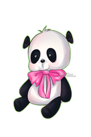 Little panda by Wosda