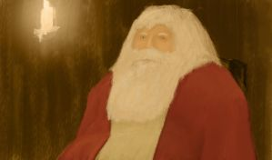 tired santa by mcgregaw