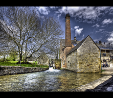 Lower Slaughters Mill by yatesmon