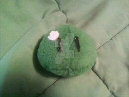 Green Blob Enemy Plushie - NOT A DANGO by GaneneTheDefendra
