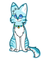 Blue Cat by DarkNyra