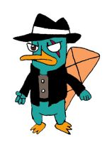 Perry the Platypus (3rd Dimension) by RocketSonic