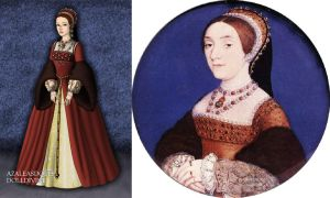Catherine Howard's miniature portrait by LadyAquanine73551