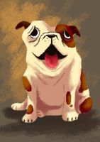 Bulldog by puppetism