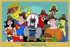 A Justice Thanksgiving by The-BlackCat