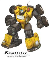 King Starscream's Bumblebee by BenjaminGalley
