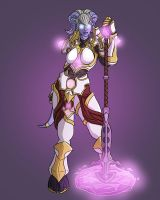 Yrel, Hero of Draenor by Faisca2