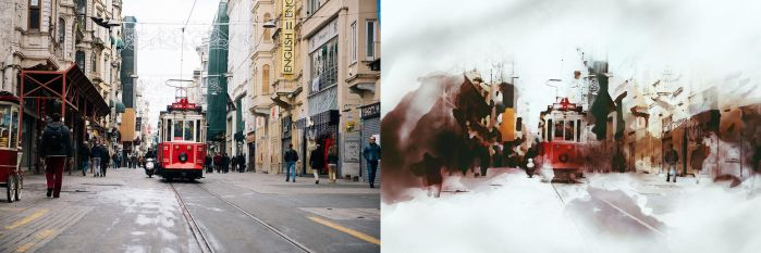 Watercolor Photoshop Action by vril1