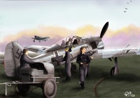 Fw190 rearming by QuentinR