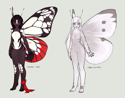 Butterflies *SET PRICE* Adoptables [CLOSED] by Siraviena