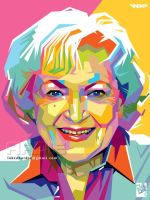 Betty White by laksanardie