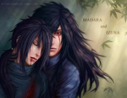 MADARA and IZUNA _ I'm with you by Zetsuai89