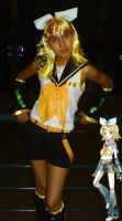 Cosplay2 Rin Kagamine AEX2012 by amyrose7