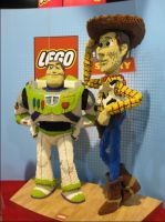 Toy Story Legos by ShipperTrish